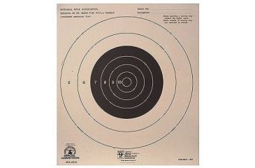 Hoppes 25 yd Slow Fire Center 10 1/2x12 Target B16