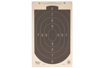 Hoppe's 50 ft Rapid Fire Silhouette 12x20 Target B24