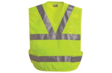 Horace Small Breakaway Hi-Vis Safety Vest, Safety Yellow, Blank, RG4XL HS3336RG4XL
