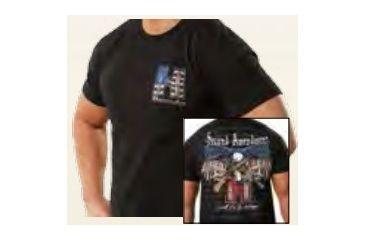 Hornady 2Nd Amendment Tshirt Med, Black 99672M