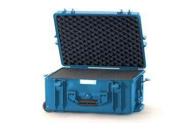 HPRC Wheeled Hard 2600W Case w/ Foam HPRC2600WFBlue