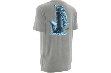 6-HUK Performance Fishing Mens KScott Jumping Bass Tee