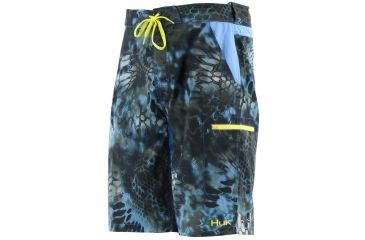 Huk performance fishing nxtlvl mens kryptek boardshorts for Huk fishing shorts