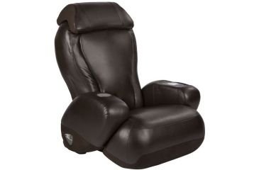 Human Touch Espresso PU Casual Massage Chair iJoy2580