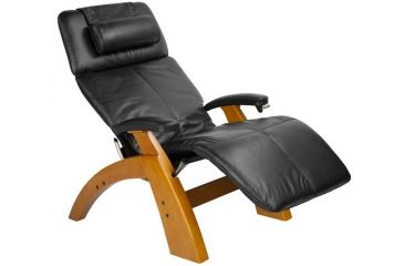 Human Touch Perfect Chair PC-006 - Maple base, Black Chair Pads