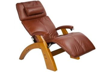 Human Touch Perfect Chair PC-006 - Maple base, Cognac Chair Pads