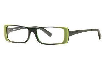 HUMMER Eyegear HU H2010 SEHU 201000 Progressive Prescription Eyeglasses - Leaf SEHU 2010005545 GN