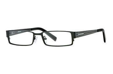 HUMMER Eyegear HU H2082 SEHU 208200 Progressive Prescription Eyeglasses - Black SEHU 2082005240 BK