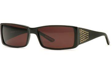 HUMMER Eyegear HU H313 SEHU 031306 Sunglasses - Black Topaz SEHU 0313065935 BK
