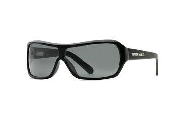HUMMER Eyegear HU H385 SEHU 038506 Sunglasses - Black SEHU 0385061435 BK