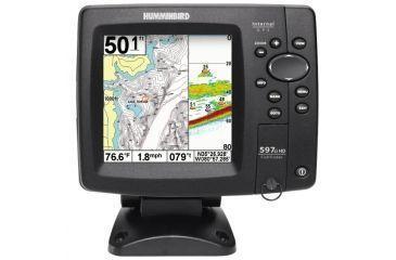 "Humminbird 597ci Combo Fish Finder, 5"" LCD 256 Colors 4081201"