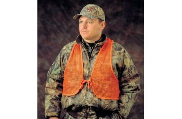 Hunter's Specialties Adult Mesh Safety Vest Orange 02006