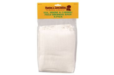 Hunter's Specialties Elk Moose Caribou Field Dressing Bags 4-Pack Quarters 48 Inches