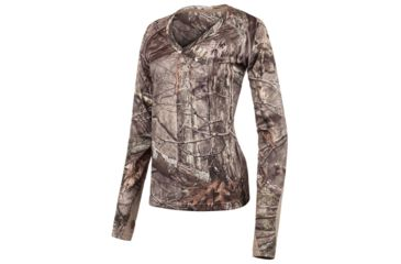 ed742891777 Huntworth Hunting Birds Eye Mesh Long Sleeve Shirt - Womens