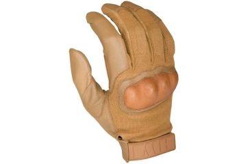 HWI Hard Knuckle Tactical Glove, Coyote Tan, Small HWHKTG300-S