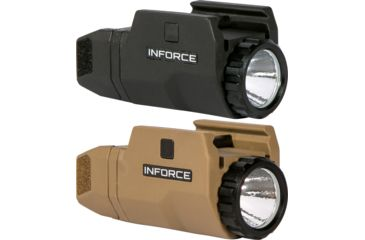 inforce apl compact led 200 lumens w mil std 1913 rails up to