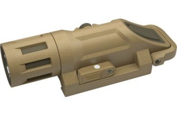 InForce WML, Multifunction Weapon Mounted Light, White and Infrared LED, 125 Lumens, Desert Sand INF-WML-S-W-IR