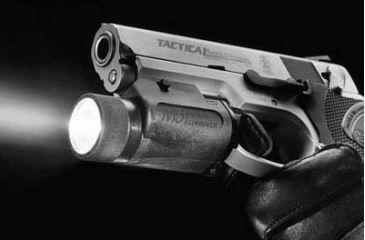Insight M5 Tactical Illuminator Light Mounted on SW Tactical Pistol