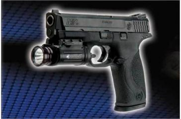 Insight SSL1 Mil-Spec Pistol Flashlight Mounted on Smith & Wesson M&P Handgun