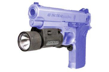 Insight Technology M3X Tactical Slide-Lock Pistol LED Illuminator, Black - 700-A3