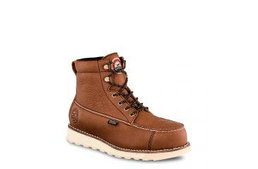 1808d304ea55 Irish Setter Mens Wingshooter ST 6in Waterproof Work Boots w Non-Metallic  Toe
