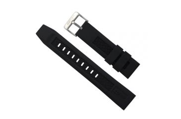 ISOBrite Black Rubber Watch Band, Small IRB100