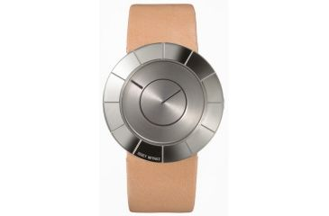 Issey Miyake SILAn005 To Mens Watch - Peach Band, Silver Case