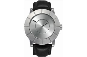Issey Miyake SILAs002 To: Automatic Mens Watch - Brown Leather Band, Silver Case