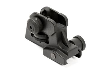 5-JE Machine Tech Match-Grade Fixed/Detachable A2 Rear Iron Sight