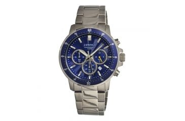 J. Springs Bfc002 Competitive Chronograph Mens Watch, Blue JSPBFC002