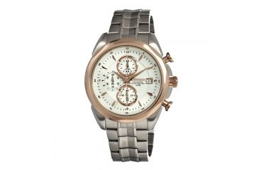 J. Springs Bfd069 Time Sculpture Mens Watch, White JSPBFD069