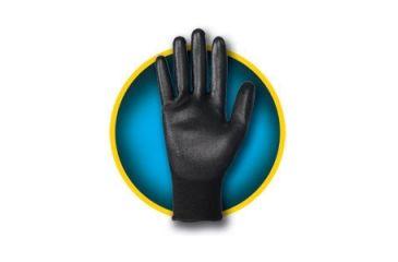 Jackson Safety G40 Polyurethane Coated Glove, Black, Medium 13838