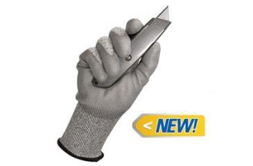 Jackson Safety G60 Level 3 Cut Resistant Gloves with Dyneema Fiber, Grey, XL 13826