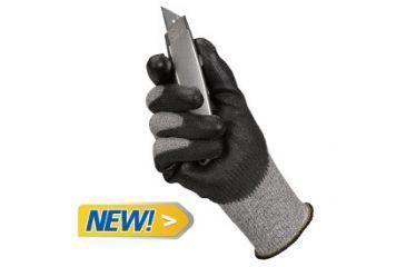 Jackson Safety G60 Level 5 Cut Resistant Gloves with Dyneema Fiber, Black, Medium 98236
