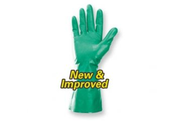 Jackson Safety G80 NITRILE Chemical Resistant Gloves, Green, Small 94445