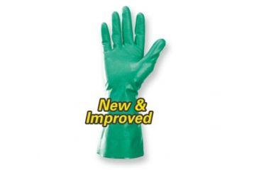 Jackson Safety G80 NITRILE Chemical Resistant Gloves, Green, Medium 94446
