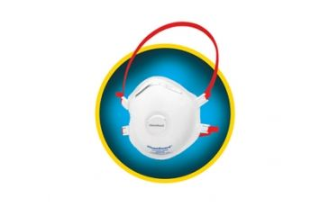 Jackson Safety R30 Particulate Respirators with Valve (N99), White, Universal 64520