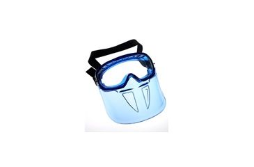 Jackson Safety Revolution Goggle, Blue Frame, VisiClear, Universal 14399