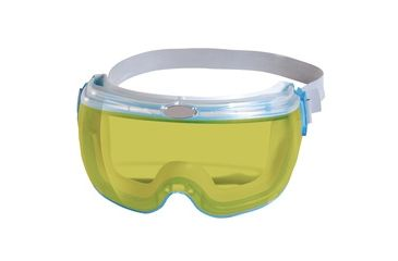 Jackson Safety Revolution Goggle, Blue Frame, Amber, Universal 14402