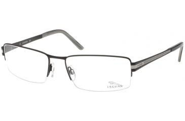 Jaguar 33048 Progressive Black-Silver Mens Eyeglasses 33048-709PROG