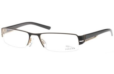 Jaguar 33534 Eyewear with 610 Black-Gold Frame