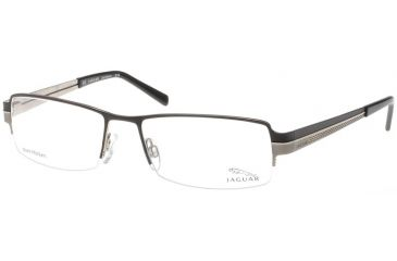 Jaguar 35028 Progressive Black-Gunmetal Mens Eyeglasses 35028-659PROG