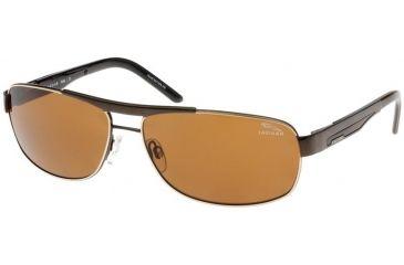 Jaguar 37316 Sunglasses - Brown-Gold/Brown Polarized Lenses (340)