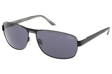 Jaguar 37325 Black Frame,Grey Polarized Lenses Mens Sunglasses 37325-737