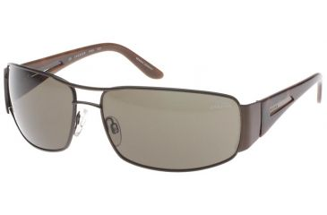 Jaguar 37528 Sunglasses with Brown Frame
