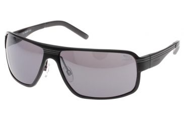 Jaguar 37708 Progressive Black-Grey Frame,Grey Flash Mirror Lenses Mens Sunglasses 37708-620PROG
