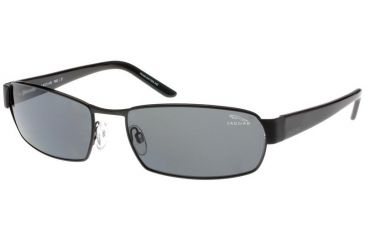 Jaguar 39704 Sunglasses - Black/Grey Polarized Lenses (610)