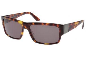 Jaguar 39710 Single Vision Tortoise FrameBrown-Green Lenses Mens Sunglasses 39710-6156RX
