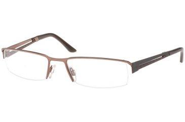 Jaguar Spirit Single Vision 33542 Sand-Brown Mens Eyeglasses 33542-510RX