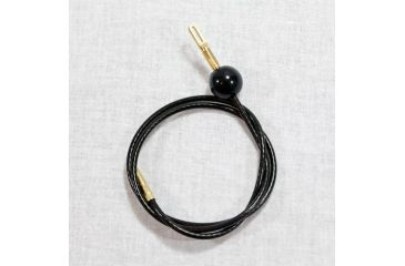 "J. Dewey 8"" Pull-thru Cable only .22-.45 cal., Black, n/a F-8"